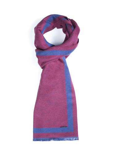 Silk and Cashmere Atkı Bordo